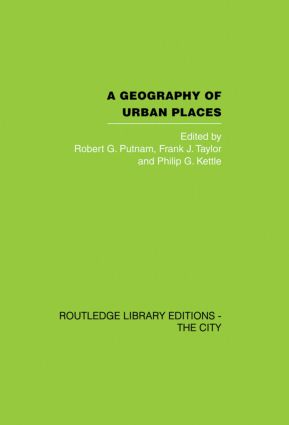 A Geography of Urban Places book cover