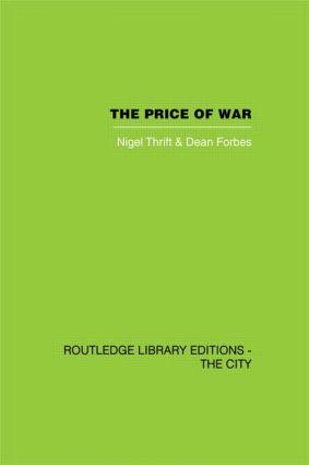 The Price of War: Urbanization in Vietnam, 1954-1985 (Hardback) book cover