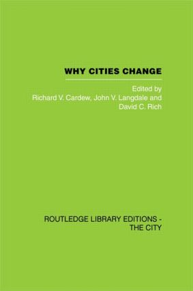 Why Cities Change: Urban Development and Economic Change in Sydney (Hardback) book cover