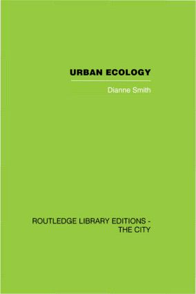 Urban Ecology (Hardback) book cover