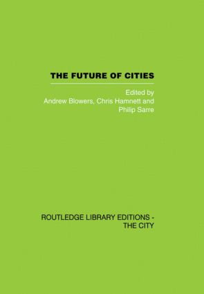 The Future of Cities (Hardback) book cover