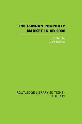 The London Property Market in AD 2000 (Hardback) book cover
