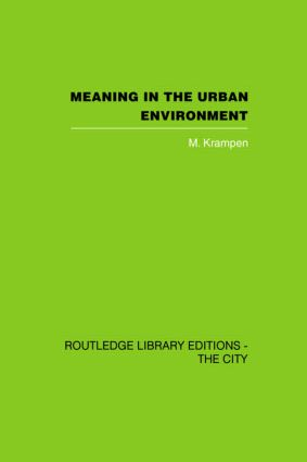 Meaning in the Urban Environment (Hardback) book cover