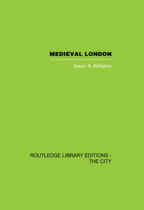 Medieval London (Hardback) book cover