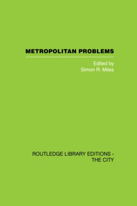 Metropolitan Problems (Hardback) book cover