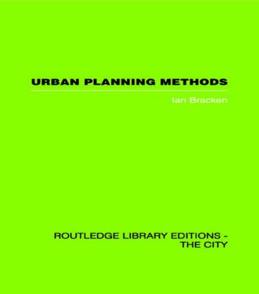 Urban Planning Methods