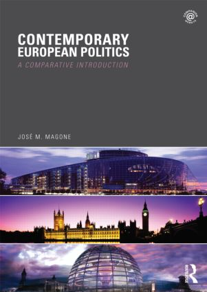 Contemporary European Politics: A Comparative Introduction (Paperback) book cover