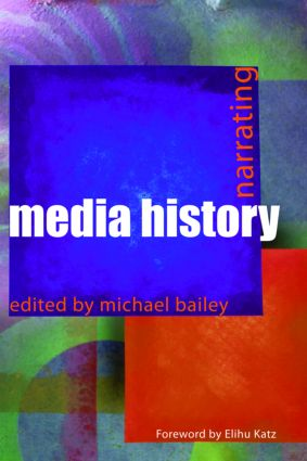 Narrating Media History book cover