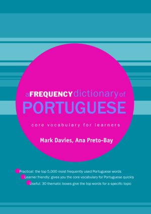 A Frequency Dictionary of Portuguese: 1st Edition (Paperback) book cover