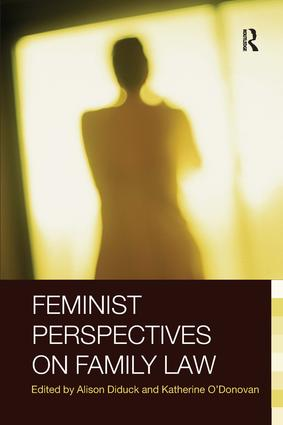 Feminist Perspectives on Family Law book cover