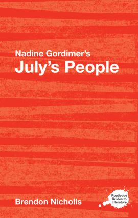 Nadine Gordimer's July's People: A Routledge Study Guide book cover