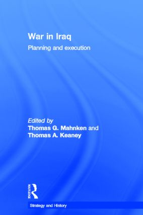 War in Iraq: Planning and Execution (Hardback) book cover