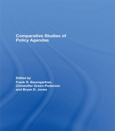 Comparative Studies of Policy Agendas: 1st Edition (Hardback) book cover