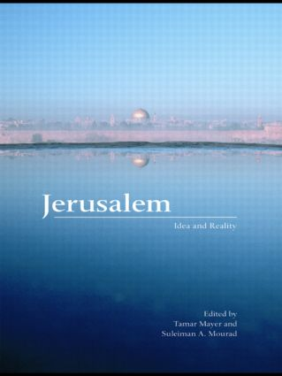 Jerusalem: Idea and Reality, 1st Edition (Paperback) book cover