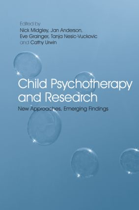 Child Psychotherapy and Research: New Approaches, Emerging Findings (Paperback) book cover