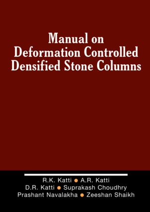 Manual on Deformation Controlled Densified Stone (DDS) Columns: 1st Edition (Hardback) book cover