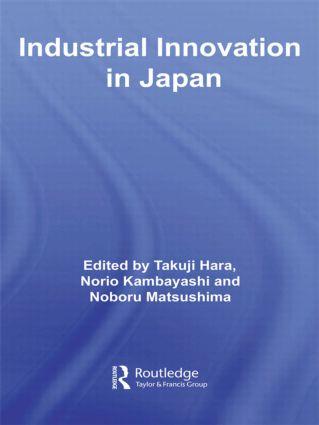 Industrial Innovation in Japan (Hardback) book cover