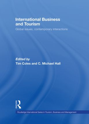 International Business and Tourism: Global Issues, Contemporary Interactions book cover