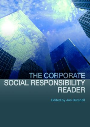 The Corporate Social Responsibility Reader (Paperback) book cover