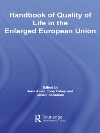 Handbook of Quality of Life in the Enlarged European Union (Hardback) book cover