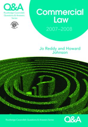 Q&A Commercial Law 2007-2008 book cover