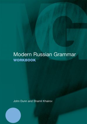 Modern Russian Grammar Workbook (Paperback) book cover