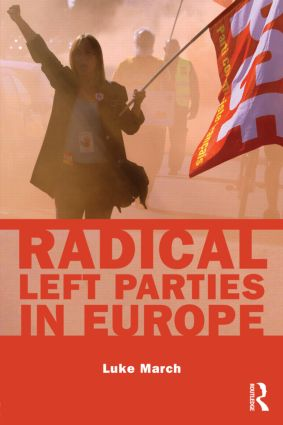 Radical Left Parties in Europe (Hardback) book cover