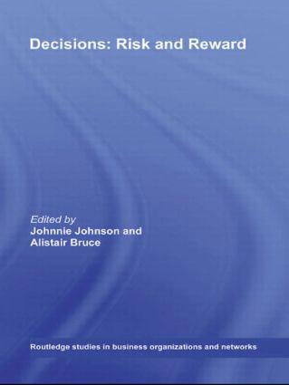 Decisions: Risk and Reward (Hardback) book cover