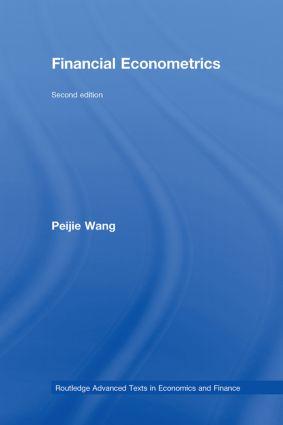 Financial Econometrics: 1st Edition (Hardback) book cover