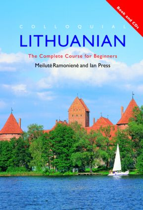 Colloquial Lithuanian: The Complete Course for Beginners (Pack - Book and CD) book cover
