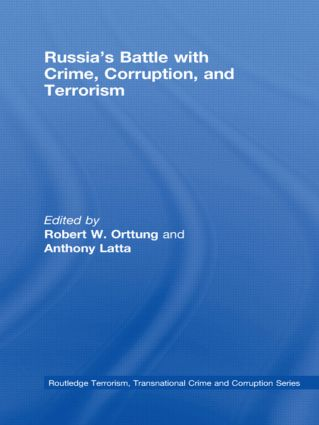 Russia's Battle with Crime, Corruption and Terrorism (Hardback) book cover