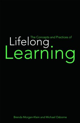The Concepts and Practices of Lifelong Learning: 1st Edition (Paperback) book cover
