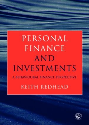 Personal Finance and Investments: A Behavioural Finance Perspective, 1st Edition (Paperback) book cover