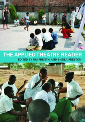 The Applied Theatre Reader (Paperback) book cover