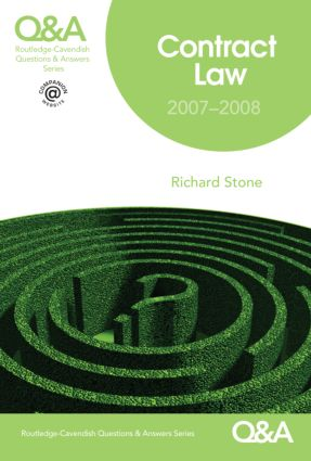 Q&A Contract Law 2007-2008 book cover