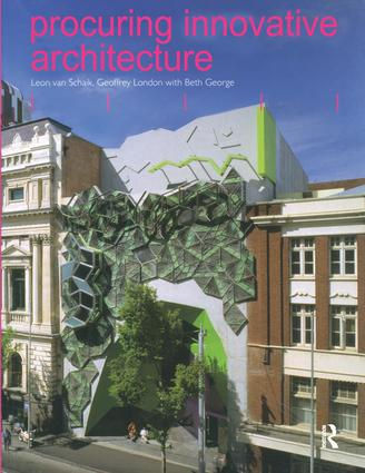 Procuring Innovative Architecture (Paperback) book cover
