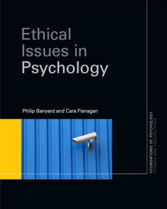 Ethical Issues in Psychology book cover