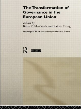 The Transformation of Governance in the European Union (Paperback) book cover