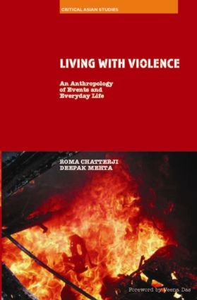 Living With Violence: An Anthropology of Events and Everyday Life (Hardback) book cover