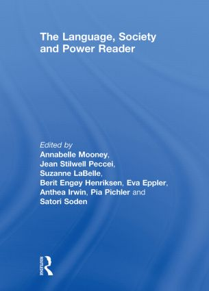 The Language , Society and Power Reader: 1st Edition (Hardback) book cover