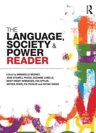 The Language , Society and Power Reader (Paperback) book cover