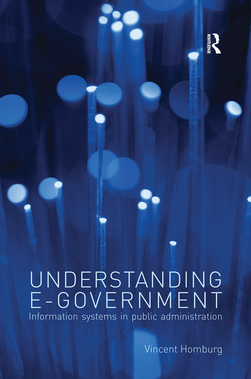 Understanding E-Government: Information Systems in Public Administration, 1st Edition (Paperback) book cover