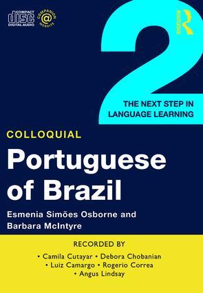 Colloquial Portuguese of Brazil 2 (Audio CD) book cover