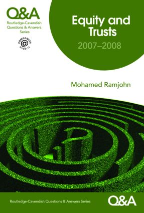 Q&A Equity and Trusts 2007-2008 book cover