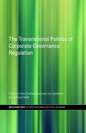 The Transnational Politics of Corporate Governance Regulation (Hardback) book cover