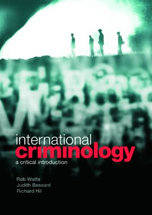 International Criminology: A Critical Introduction (Paperback) book cover