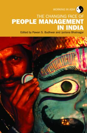 The Changing Face of People Management in India (Paperback) book cover