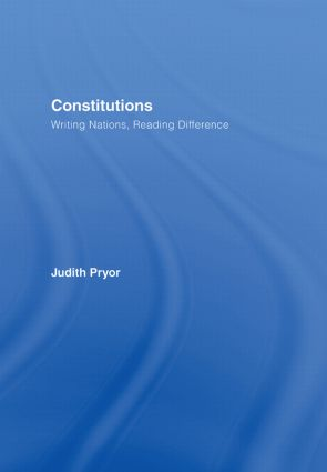 Constitutions: Writing Nations, Reading Difference book cover