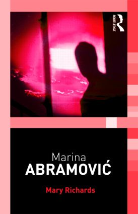Marina Abramovic (Paperback) book cover