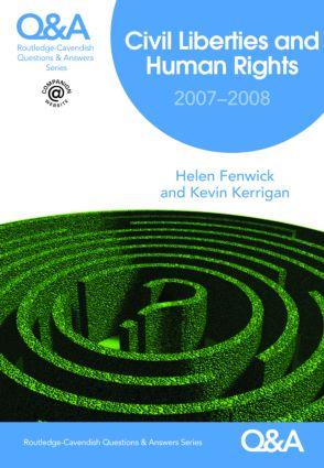 Q&A Civil Liberties & Human Rights 2007/2008